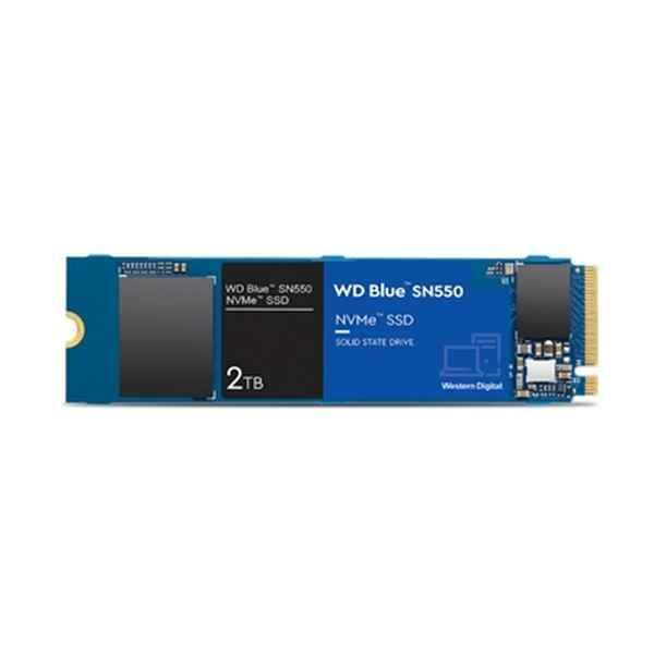 Grote foto hard drive western digital sn550 2 tb m.2 ssd computers en software harde schijven