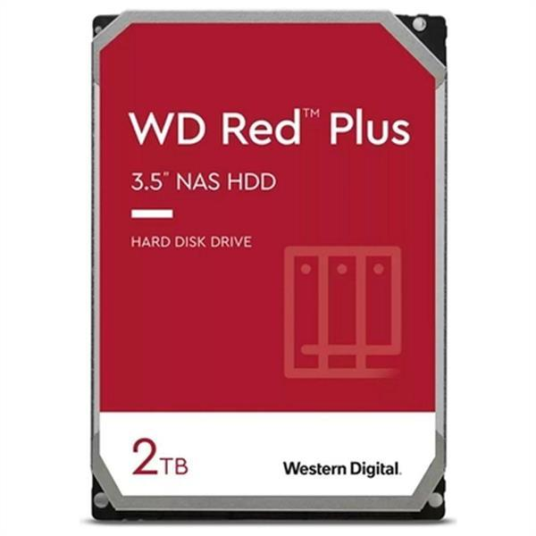 Grote foto hard drive western digital wd red plus nas 2 tb 3 5 2 tb 54 computers en software harde schijven