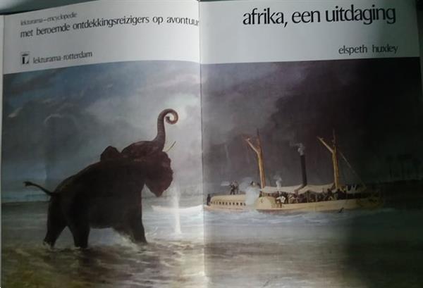 Grote foto mooie boekenreeks boeken geschiedenis wereld