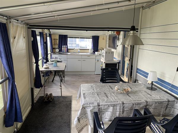 Grote foto hobby 710 excellent inclusief vaste vercovan tent caravans en kamperen caravans