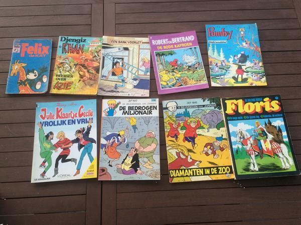 Grote foto strips 9 stuks varia boeken comics