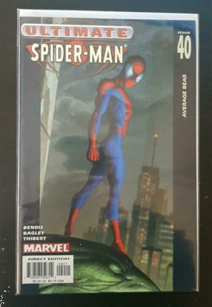 Grote foto ultimate spiderman vol. 1 40 vf us boeken comics