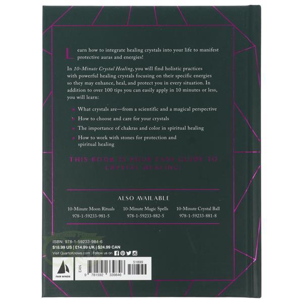 Grote foto 10 minute crystal healing hardcover ann crane boeken overige boeken